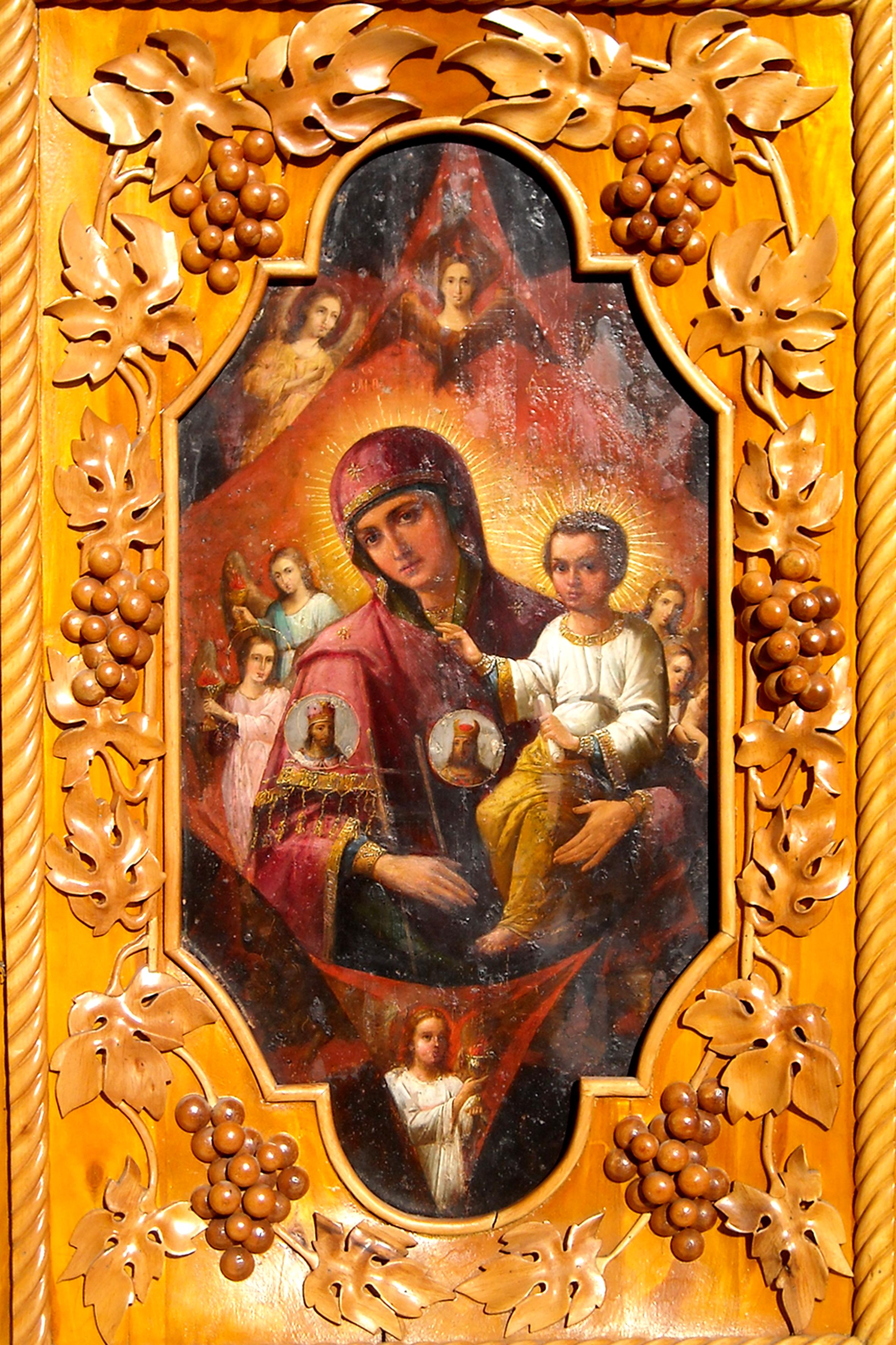 Икона Божией Матери «Неопалимая Купина» - Славянская
