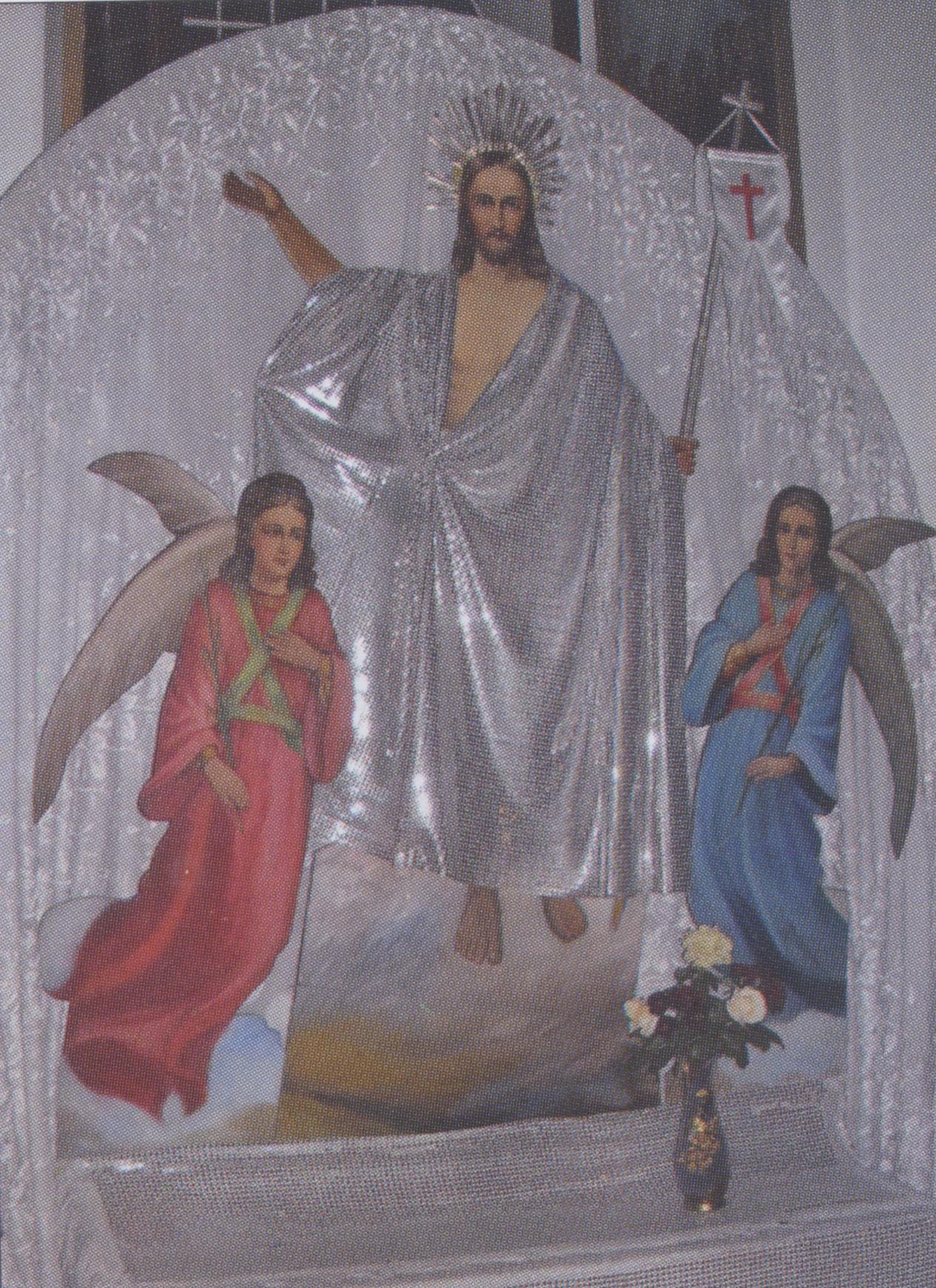 Храмовая икона «Воскресение»