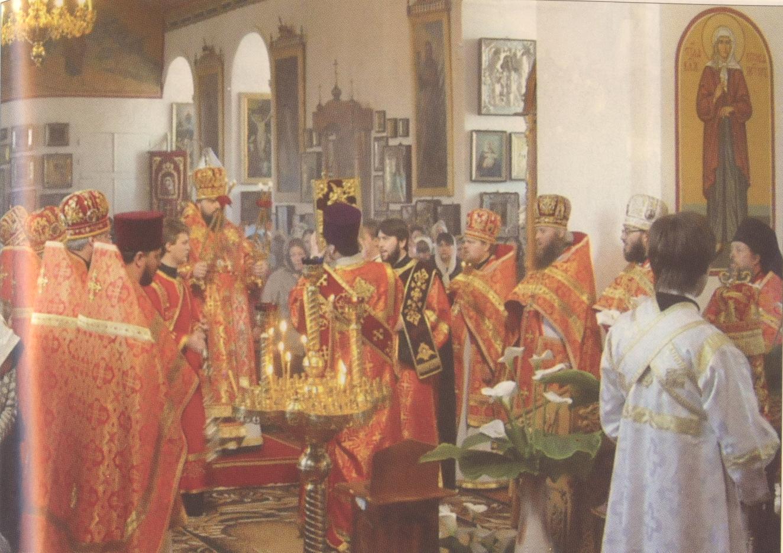 Пасхальное праздичное богослужение