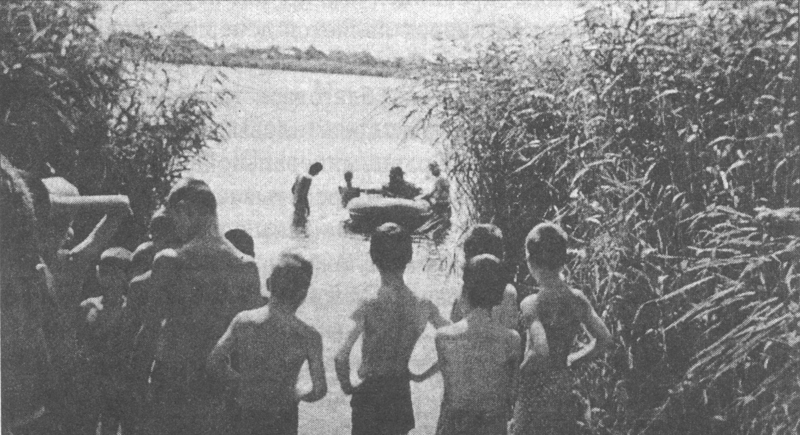 Крещение детей-сирот на Славянских озерах