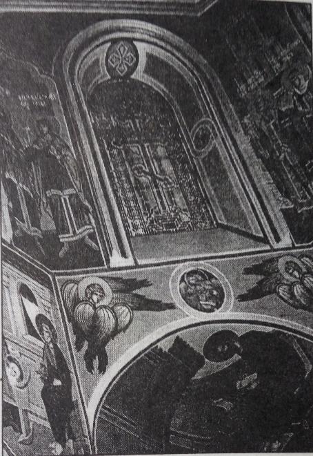 Купол (фрагмент росписи)