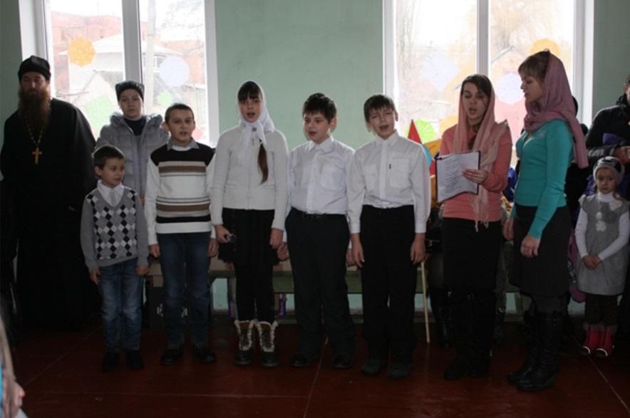 Воскресная школа храма новомучеников и исповедников Церкви Русской
