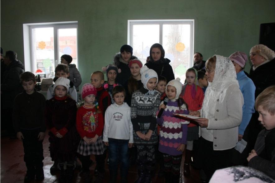Воскресные школы Николаевского и Спиридоновского храмов г. Николаевка