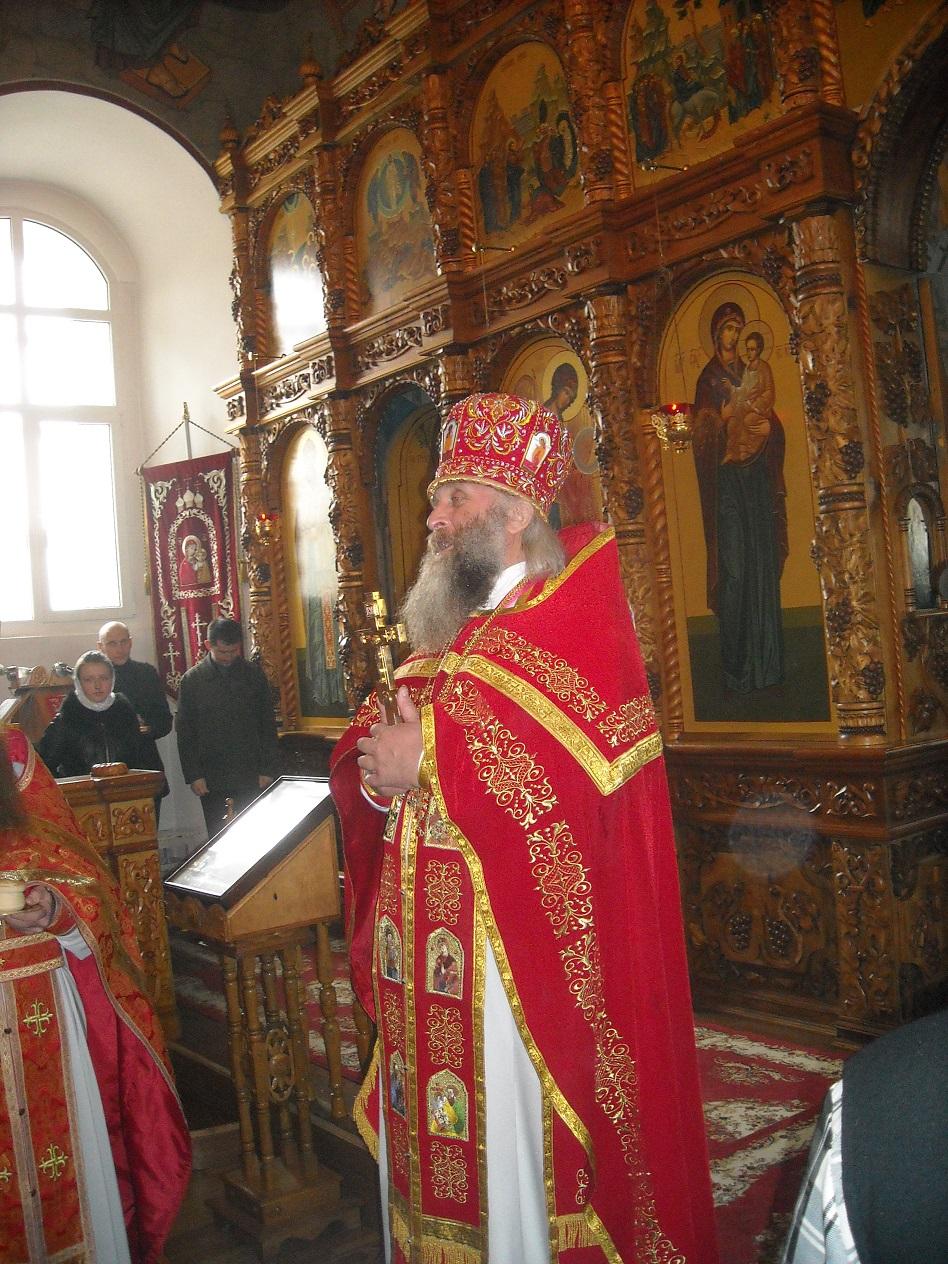 Протоиерей Николай, благочинный Александро-Невского и Серафимовского округов г. Славянска