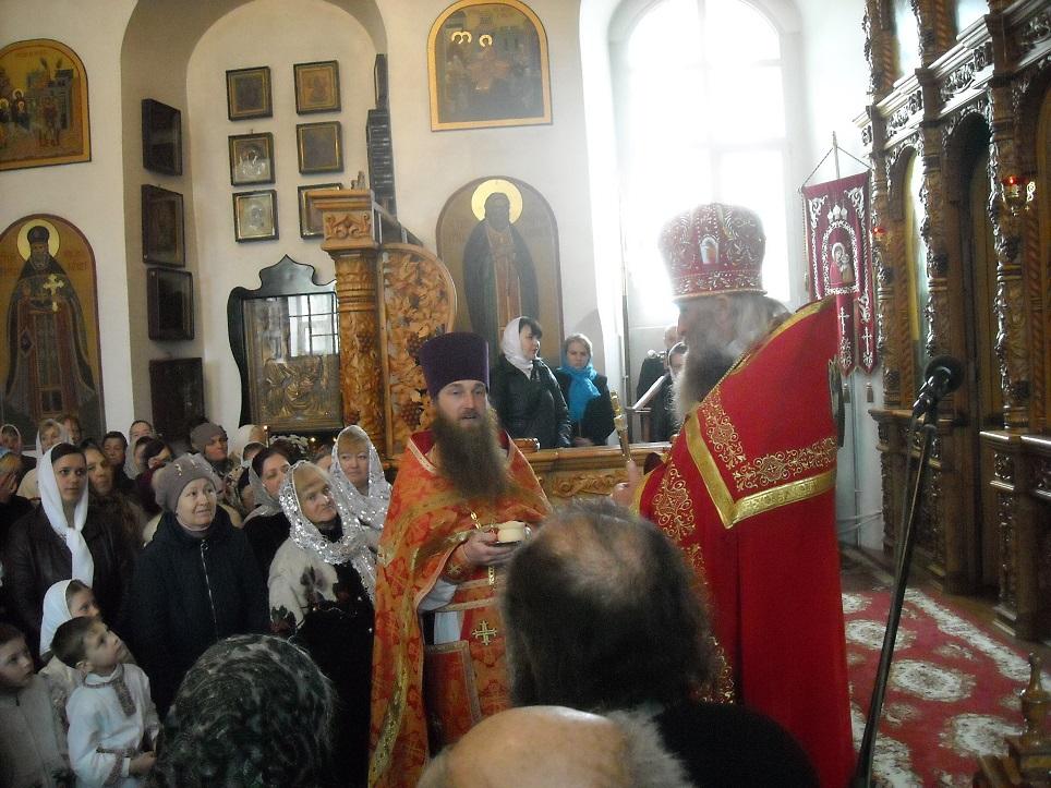 Протоиерей Алексий (Бездушный) поблагодарил благочинного