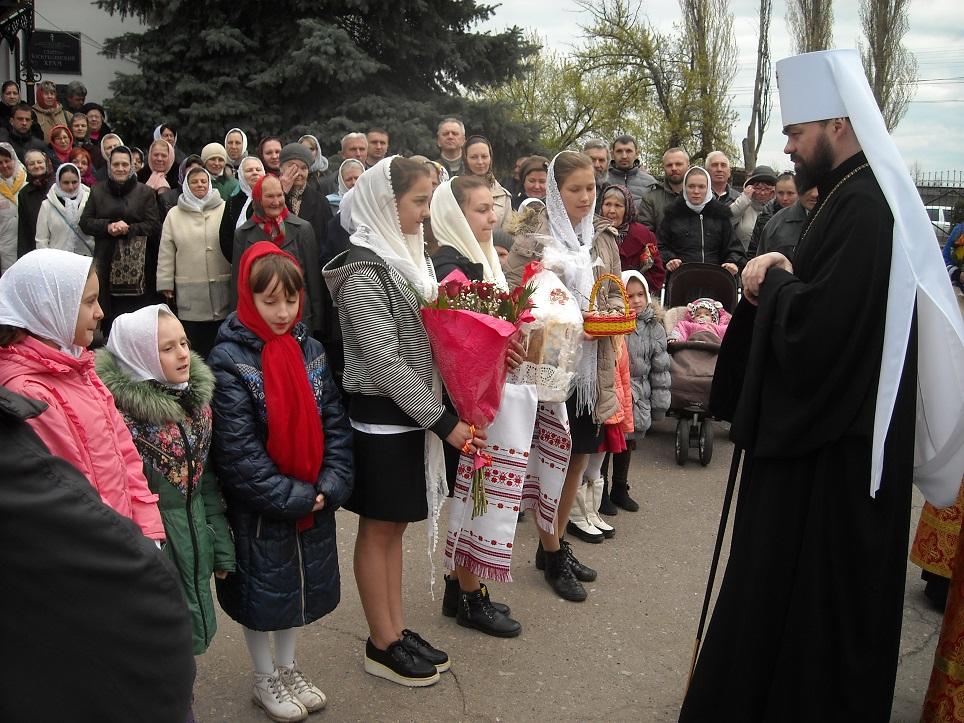 Встреча Высокопреосвященнейшего Митрофана Митрополита Горловского и Славянского
