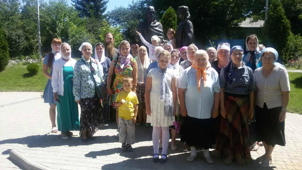 Паломничество в Свято-Сергеевский монастырь