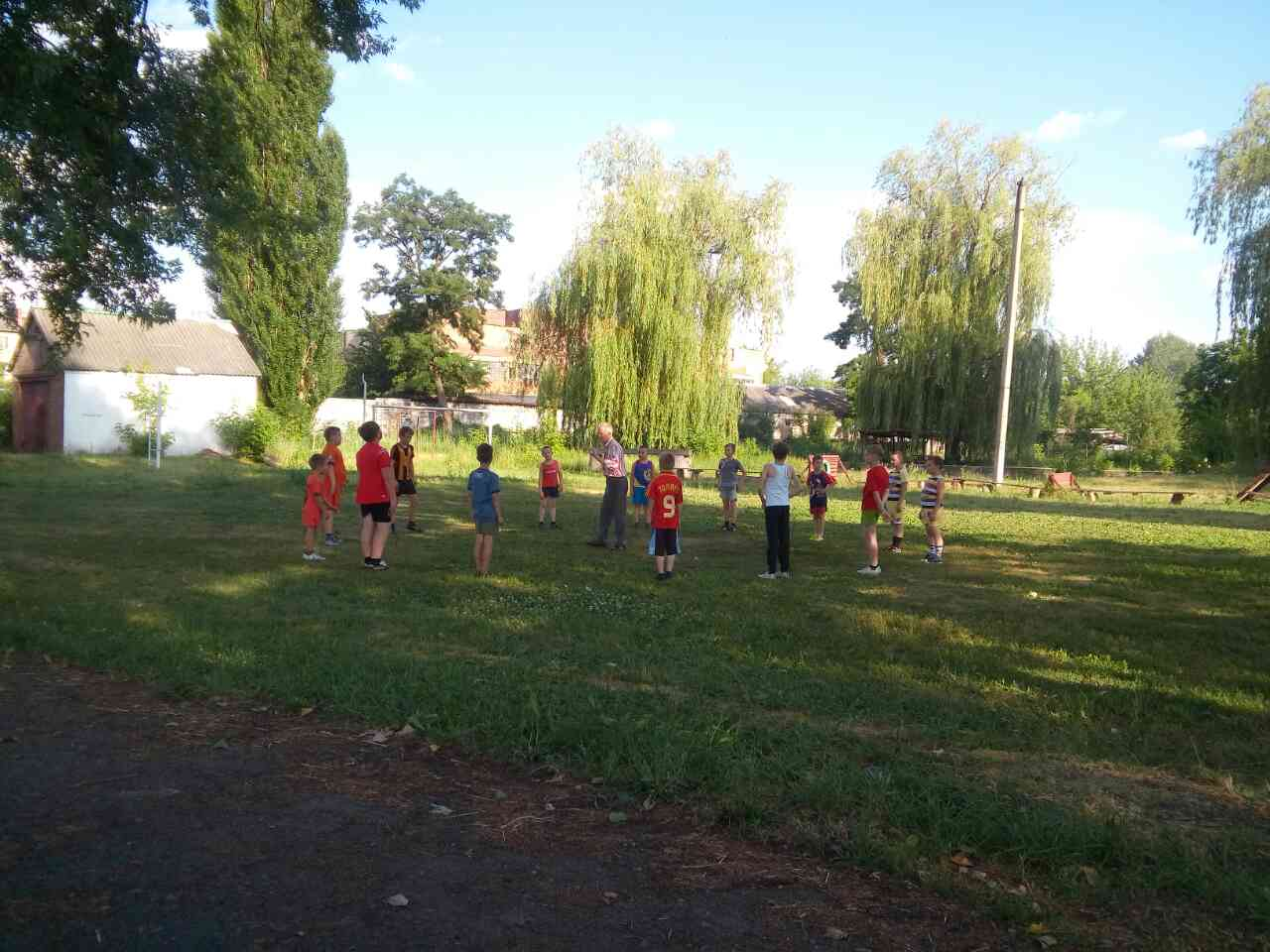 Футбол для детей на Вилле Марии.