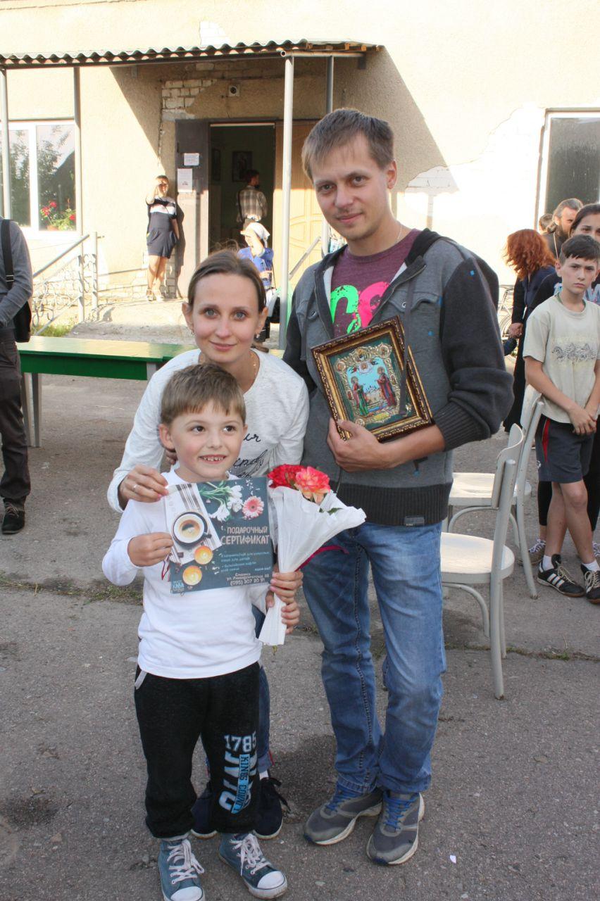 Финалисты семейных соревнований