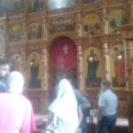 Дети-велосипедисты посетили Свято-Воскресенский храм