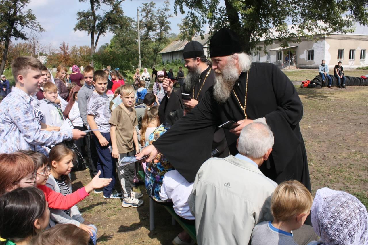 Молебен на начало учебного года в воскресных школах