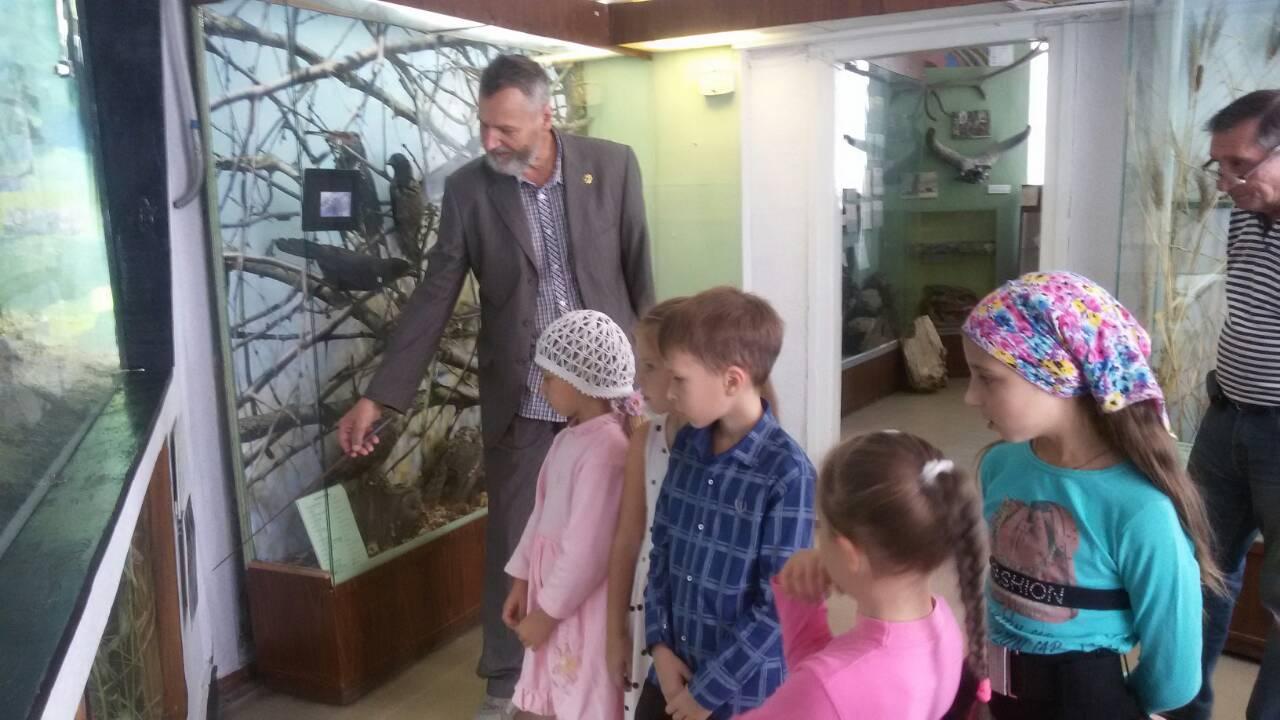 Воскресная школа посетила краеведческий музей