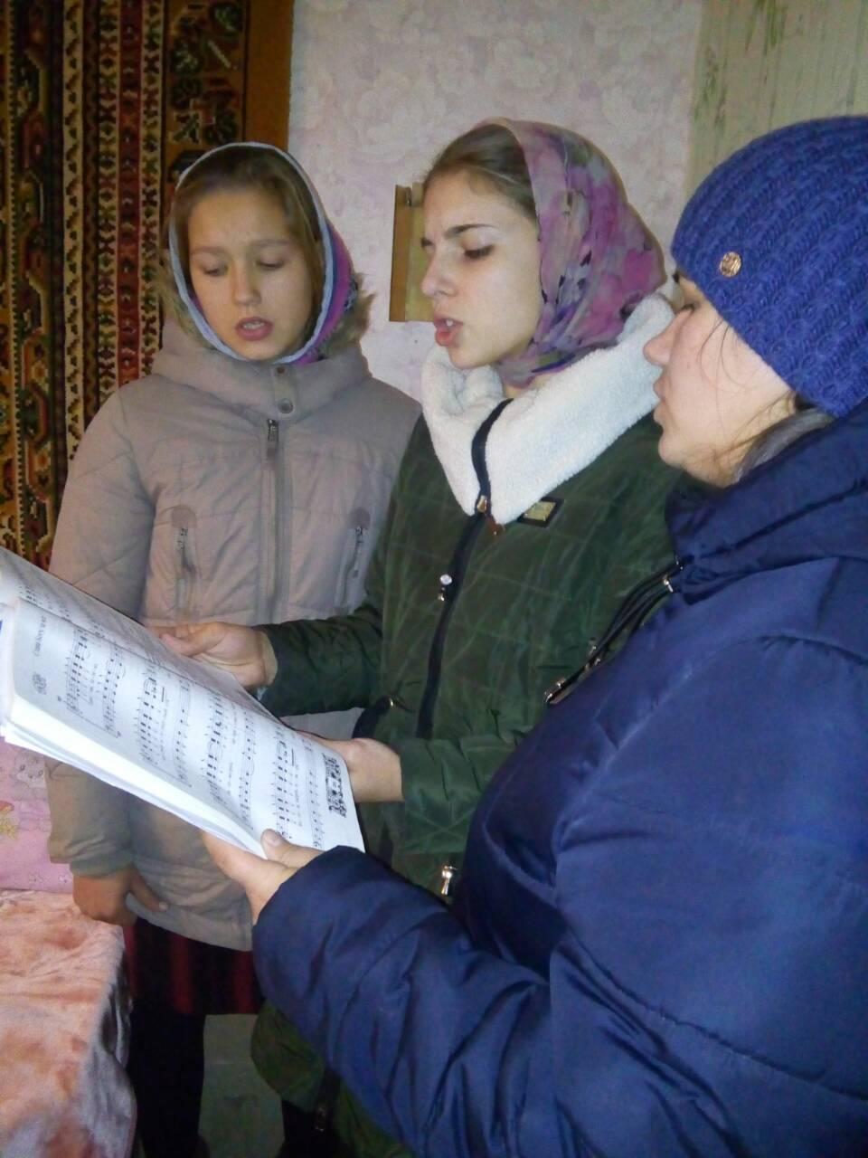 Молодежный хор Свято – Воскресенского храма