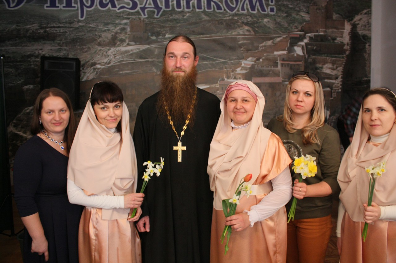 Праздник Жен - Мироносиц на Вилле Марии