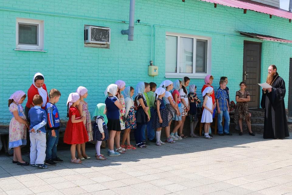 Окончание учебного года для учеников воскресной школы Свято - Воскресенского храма.