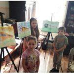 Год как работает художественная студия «Краски жизни»