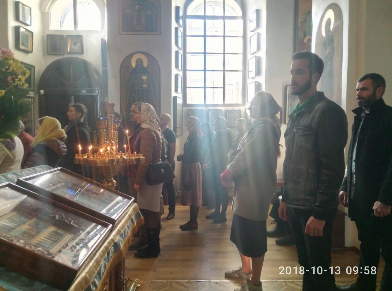 Киевская молодежка в Свято-Воскресенском храме