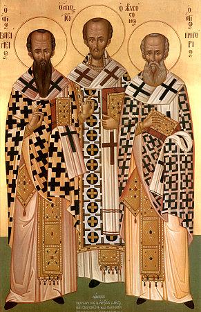 Престольный день в честь трех святителей