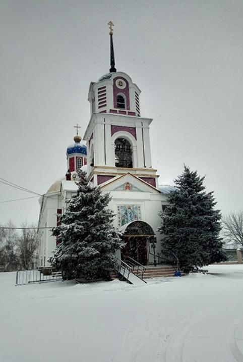 Воскресенский храм Славянска