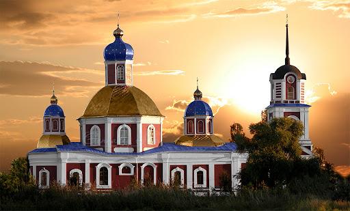 Храм Воскресения Христова (Свято-Воскресенский храм) города Славянска